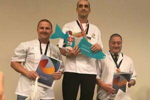Leonardo Pacheco Gonçalves venceu a segunda edição da Copa Brasil Best Sushiman