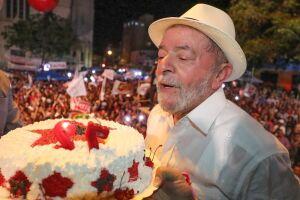 Lula discursou em Montes Claros (MG)