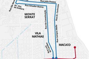 Pelo projeto, a segunda fase do VLT terá 8,2km e 14 estações