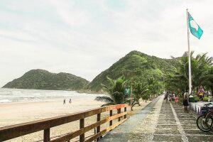 A Praia do Tombo será condecorada pela oitava vez seguida com o selo do Programa Bandeira Azul