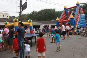 A festa promovida pela Paróquia São João Batista ainda contou com música, dança e animação infantil