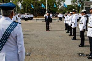 O presidente Michel Temer e autoridades militares destacaram o papel da Força Aérea Brasileira (FAB) para o desenvolvimento de tecnologias e para a geração de benefícios sociais