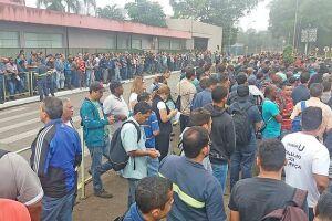 Ato contra a reforma da trabalhista: trabalhadores se reúnem em Cubatão