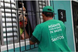 A Prefeitura de Santos e a Organização Social (OS) Associação de Pesquisa, Prevenção e Educação (Asppe) estão devendo a rescisão contratual de trabalho de 164 agentes comunitários de saúde