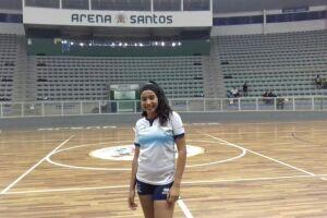Aline Alves foi convidada para participar do Acampamento Nacional de Desenvolvimento e Melhoria Técnica do Handebol