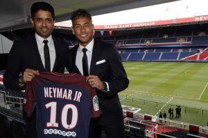 PSG acaba de pagar 222 milhões de euros (R$ 845,4 milhões, na cotação atual) pela contratação de Neymar