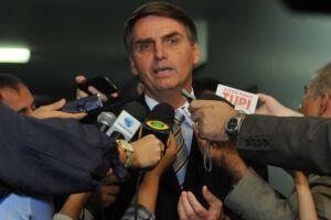 Bolsonaro disse não estar preocupado com a não candidatura de Luciano Huck