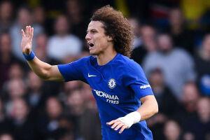 David Luiz voltou a ser relacionado para uma partida do Chelsea