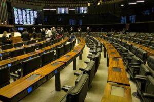 A Câmara dispensou os deputados entre os dias 13 e 17 de novembro