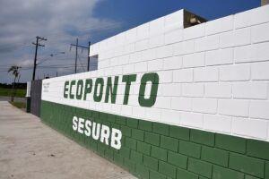 Atualmente, a Cidade conta com 12 unidades de Ecopontos