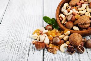 Frutas secas e castanhas fazem uma combinação poderosa