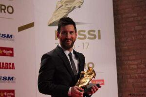 Messi fez 37 gols na última edição do Campeonato e, com isso, terminou a disputa da Chuteira de Ouro com 74 pontos