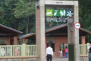 O Orquidário funciona das 9h às 18h. A bilheteria até 17h.