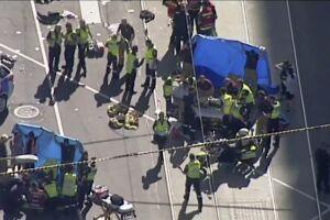 Foram presos o motorista e um homem que o acompanhava no carro, um SUV branco