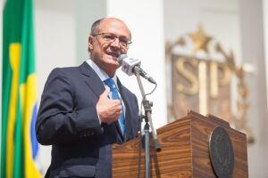 Geraldo Alckmin considerou um equívoco condicionar as verbas à reforma da Previdência