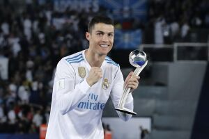 Cristiano Ronaldo marcou o gol do título do Real Madrid
