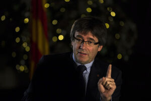 Carles Puigdemont está foragido em Bruxelas