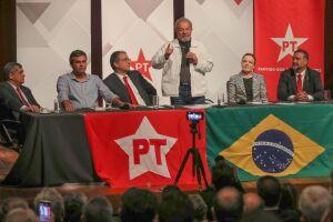 Lula disse que seu ex-ministro da Fazenda Antonio Palocci foi quem contou aos procuradores 'uma mentira maio'