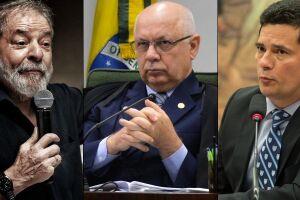 Lula, Teori Zavascki e Sérgio Moro dominaram as manchestes de jornais