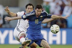 Lionel Messi ainda tem a derrota na final da Copa do Mundo de 2014 na memória