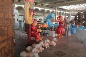 É a primeira vez que uma cidade do litoral paulista promove uma grandiosa festividade de Natal para a população