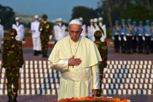 Francisco realizou uma enorme missa ao ar livre nesta sexta-feira