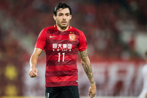 Goulart tem contrato com o Guangzhou Evergrande até 2020