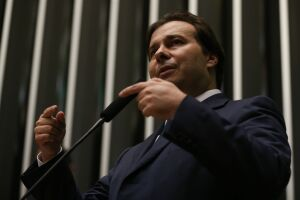 Rodrigo Maia disse que a reforma da Previdência pode predominar nos debates eleitorais no próximo ano