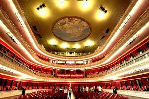 O Teatro Coliseu permanece em obras até hoje