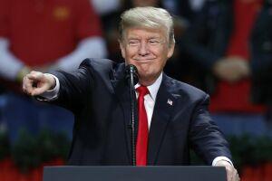 Trump reiterou que não houve 'absolutamente nenhum' conluio com a Rússia