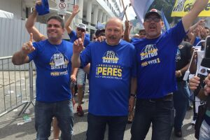 José Carlos Peres e Orlando Rollo comandarão o Santos pelo próximo triênio