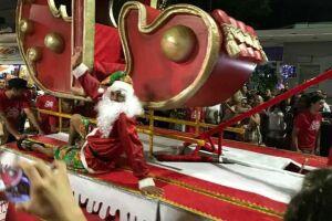 A Parada de Natal de Peruíbe é o maior evento de rua que a cidade já assistiu