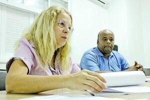 Carla Mazzeo e Adriano Lopes, o Pixoxó, informaram que estão solicitando à Justiça do Trabalho o reinício do processo eleitoral