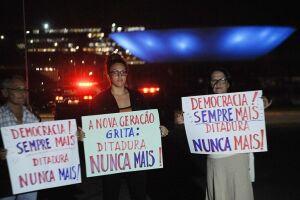 Ato realizado em Brasília, ano passado, relembra mortes e desaparecimentos na época do regime militar.