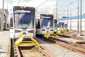 Além do anúncio dos editais para expansão do VLT, veículos novos foram entregues