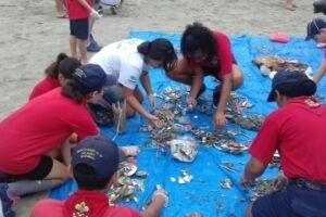 4° dia da Campanha Verão Limpo recolhe mais de 3.500 micros resíduos