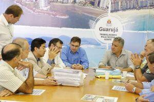Acordo sela construção do futuro batalhão do 21º BPM-I em Guarujá