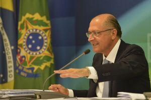 Geraldo Alckmin disse que a candidatura do PSDB ao Palácio do Planalto está 'caminhando bem'