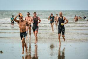 A prova de triathlon será disputada na metragem short