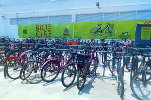 A campanha vai de encontro com o novo bicicletário do Litoral Plaza