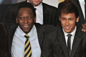 Pelé diz que Neymar já é o melhor jogador do mundo