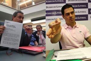 Chico Nogueira (PT) fez o levantamento de contas e Fabrício Cardoso (PSB) o requerimento