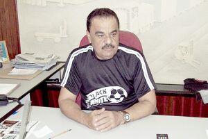 Everandy Cirino dos Santos é o presidente do Sindaport