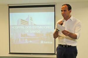Prefeito apresentou resultados na cerimônia de um ano do Hospital dos Estivadores