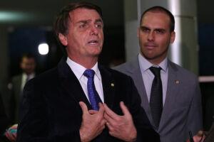 Jair Bolsonaro apresentou uma queixa-crime contra o parlamentar Jean Wyllys