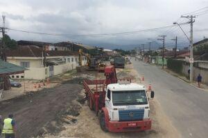 A Avenida Haroldo de Camargo está sendo revitalizada