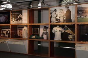 Durante a temporada de verão, o Museu Pelé recebeu 12.554 visitantes