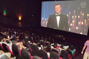 O Roxy 5 exibe a transmissão ao vivo da entrega do Oscar no domingo (4) a partir das 21h45