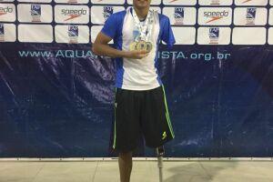 Gabriel Melone é atleta da Equipe Memorial de Santos