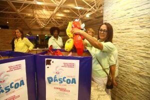 Fundo Social arrecada ovos de Páscoa para crianças